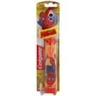 Colgate Kids Spiderman detská zubná kefka na batérie extra soft Orange