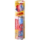 Colgate Kids Spiderman detská zubná kefka na batérie extra soft Gray