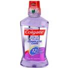 Colgate Plax Complete Care ústní voda pro kompletní ochranu zubů příchuť Clean Mint (Alcohol Free, 12 Hour Protection) 500 ml