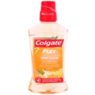 Colgate Plax Deep Clean elixir antibacteriano para hálito fresco Eucaliptus & Propolis (Fights Bacteria & Plaque 24/7 Bad Breath Control) 500 ml
