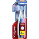 Colgate Slim Soft Ultra Compact zubní kartáčky soft 3 ks Green & Blue & Pink (0,01 mm Ultra Soft Tip Bristles for a Superior Cleansing)
