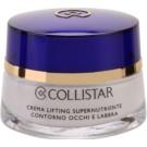 Collistar Special Anti-Age nährende Liftingcreme Für Lippen und Augenumgebung  15 ml
