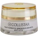 Collistar Special Combination And Oily Skins crema rejuvenecedora para regular el sebo cutáneo  50 ml