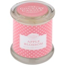 Country Candle Apple Blossom Scented Candle   in Glass Jar with Lid