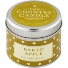Country Candle Baked Apple Duftkerze  1 St. in Blechverpackung