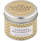 Country Candle Caramel Macchiato Duftkerze    in Blechverpackung