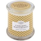 Country Candle Caramel Macchiato Scented Candle   in Glass Jar with Lid