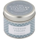 Country Candle Cotton Fields vela perfumado   Em placa