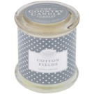 Country Candle Cotton Fields Scented Candle   in Glass Jar with Lid