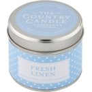 Country Candle Fresh Linen Scented Candle   in Tin