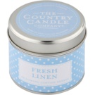 Country Candle Fresh Linen Duftkerze    in Blechverpackung