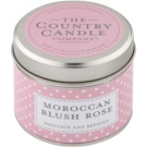 Country Candle Moroccan Blush Rose Duftkerze    in Blechverpackung