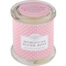 Country Candle Moroccan Blush Rose vonná svíčka   ve skle s víčkem