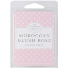Country Candle Moroccan Blush Rose cera para lámparas aromáticas 60 g