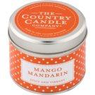 Country Candle Mango Mandarin vonná svíčka   v plechu
