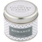 Country Candle Romance vonná svíčka   v plechu