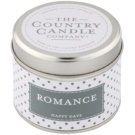 Country Candle Romance Scented Candle   in Tin