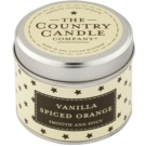 Country Candle Vanilla Spiced Orange Duftkerze    in Blechverpackung
