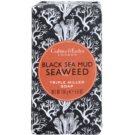 Crabtree & Evelyn Black Sea Mud & Seaweed розкішне мило з вмістом морських водоростей та багна  158 гр