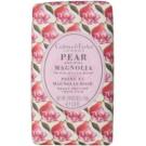 Crabtree & Evelyn Pear & Pink Magnolia tuhé mydlo s hydratačným účinkom  158 g