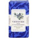 Crabtree & Evelyn Vetiver & Juniperberry luxuriöse Seife mit Vetiver und Wacholder  158 g