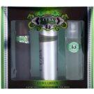 Cuba Green ajándékszett II. Eau de Toilette 100 ml + borotválkozás utáni arcvíz 100 ml + dezodor szpré 200 ml