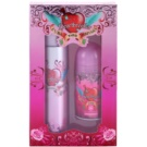 Cuba Heartbreaker lote de regalo I.  eau de toilette 100 ml + desodorante roll-on 50 ml