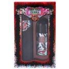 Cuba Jungle Zebra lote de regalo II. eau de toilette 100 ml + desodorante roll-on 50 ml