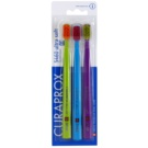 Curaprox 5460 Ultra Soft Toothbrushes, 3 pcs Light Green & Blue & Violet (Curen Filaments 0,10 mm)