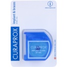 Curaprox DF 845 Dental Floss on Braces and Implants (Implant & Brace Floss) 50 pc
