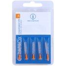 Curaprox Strong & Implant CPS náhradní mezizubní kartáčky na čištění implantátů 5 ks CPS 24 Orange 2,0  - 4,4 mm (Strong & Implantat Refill)