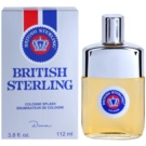 Dana British Sterling Eau de Cologne para homens 112 ml sem vaporizador
