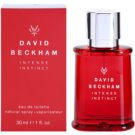 David Beckham Intense Instinct Eau de Toilette para homens 30 ml