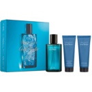 Davidoff Cool Water Man coffret V.  Eau de Toilette 125 ml + bálsamo after shave 75 ml + gel de duche 75 ml