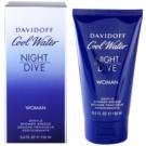 Davidoff Cool Water Night Dive gel de dus pentru femei 150 ml