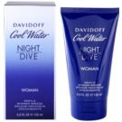 Davidoff Cool Water Night Dive gel de duche para mulheres 150 ml