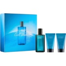 Davidoff Cool Water Man lote de regalo I.  eau de toilette 75 ml + gel de ducha 50 ml + bálsamo after shave 50 ml