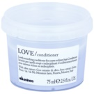 Davines Love Olive изглаждащ балсам за неподдайна коса (Lovely Smoothing Conditioner for Coarse or Frizzy Hair) 75 мл.