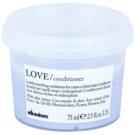 Davines Love Olive acondicionador alisador para cabello encrespado y rebelde  75 ml