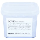 Davines Love Olive acondicionador alisador para cabello encrespado y rebelde  250 ml