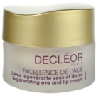Decléor Excellence de L´Âge Anti-Âge Global Augencreme gegen Falten für reife Haut (Regenerating Eye and Lip Cream 50+) 15 ml