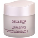 Decléor Hydra Floral Rich Hydrating Cream For Normal And Dry Skin  50 ml