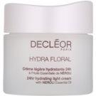 Decléor Hydra Floral creme hidratante para pele normal a mista (24hr Hydrating Light Cream) 50 ml