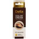 Delia Cosmetics Argan Oil barva na obočí odstín 3.0 Dark Brown 15 ml