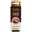 Delia Cosmetics Argan Oil farbka do brwi odcień 3.0 Dark Brown 15 ml
