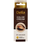 Delia Cosmetics Argan Oil coloração para sobrancelhas tom 3.0 Dark Brown 15 ml