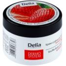 Delia Cosmetics Dermo System crema corporal nutritiva con olor a fresa (Nourishing Strawberry Soufflé) 200 ml