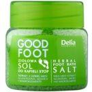 Delia Cosmetics Good Foot bylinná kúpeľová soľ na nohy  570 g