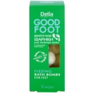 Delia Cosmetics Good Foot šumivé koule do koupele na nohy  54 g