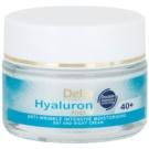 Delia Cosmetics Hyaluron Fusion 40+ intensive feuchtigkeitsspendende Creme gegen Falten 50 ml